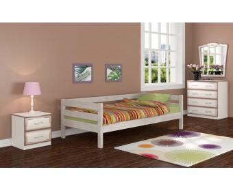 Кровать Bravo Глория Белый античный