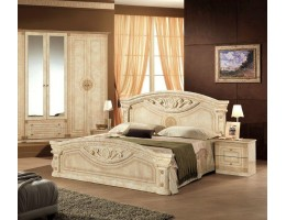 Кровать «Рома» (160*200) беж