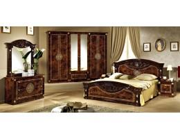 """Спальня """"Рома"""" (с 6-и дверным шкафом) орех"""