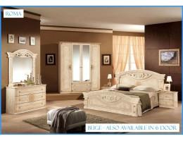 """Спальня """"Рома"""" (с 4-х дверным шкафом) беж"""