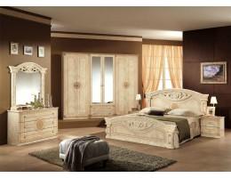 """Спальня """"Рома"""" (с 6-и дверным шкафом) беж"""