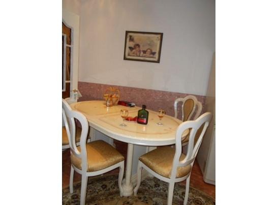 Стол обеденный Роза (раскладной) беж