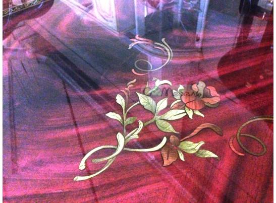 Стол обеденный Роза (раскладной) могано