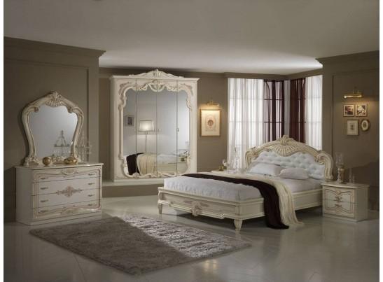 "Спальня ""Диана"" (с 4-х дверным шкафом) беж"