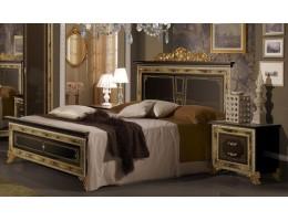 """Кровать 2-х спальная """"Катя"""" (черный)"""