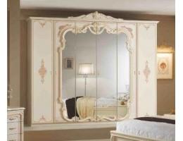 "Шкаф 6-и дверный с зеркалами ""Диана"" (беж.)"