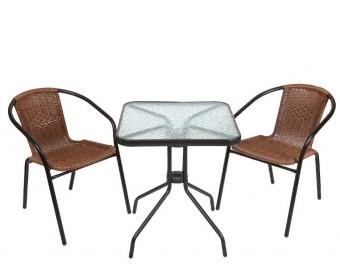 Комплект кофейный Bistro 220021+220020 (стол и 2 кресла)