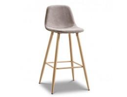 Барный стул 350B, ножки натурального цвета