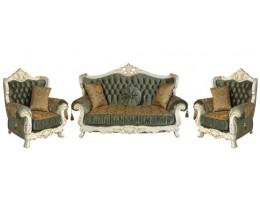 Мебель для гостиной Эсмеральда, белый нефрит
