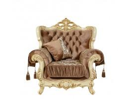 Кресло Эсмеральда, крем (ткань беж)