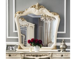 Зеркало Энрике крем глянец