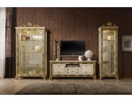 Модульная гостиная Катя - ТВ комплект Беж