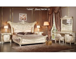 Спальный гарнитур LOVE CM11 (слоновая кость)