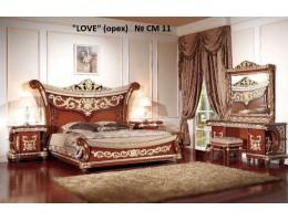Спальный гарнитур LOVE CM11 (светлый орех)