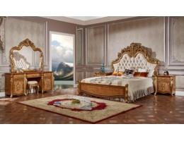 Спальный гарнитур Сафия Стори (светлый орех)