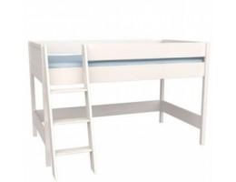 Кровать-чердак Сиело 77303, белый воск УКВ