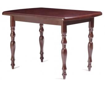 Стол кухонный 110-160 из массива бука, черешня