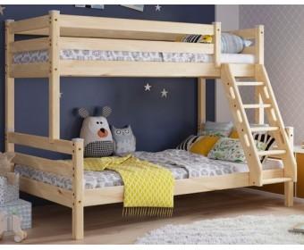Кровать комбинированная Адель (массив)