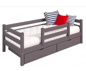 Кровать Соня Вариант 4 (с защитой по центру)