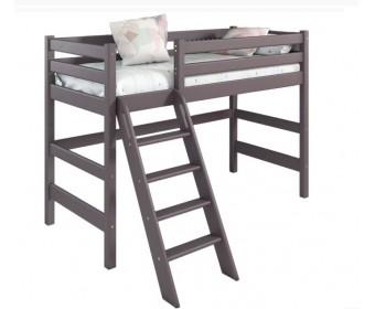 """Полувысокая кровать """"Соня"""" Вариант 6 (с наклонной лестницей)"""