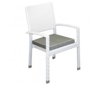 Кресло штабелируемое KLERMON с ажурным плетением