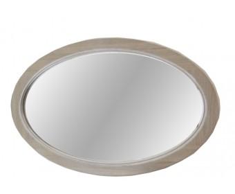 Зеркало Лаура овальное из натурального дуба ММ-267-05