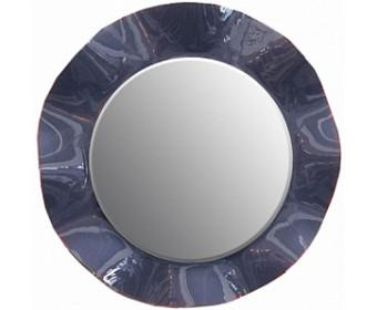 Зеркало Мокко круглое из натурального дерева ММ-316-05