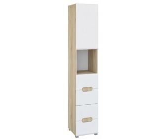 Шкаф комбинированный Леонардо МН-026-20, белый
