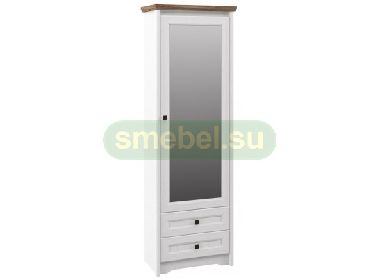 Шкаф-пенал с зеркалом Тиволи МН-035-09