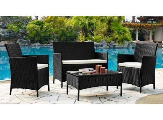 Комплект кофейный 210013 (стол + 2 кресла + диван)