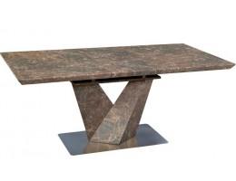 Стол раскладной EMPIRE N 140, коричневый камень