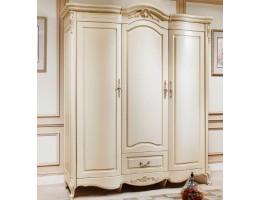 Шкаф платяной 3-х дверный 8803 Fiore Bianco, ivory