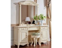 Туалетный стол без зеркала 8801-A Fiore Bianco, ivory