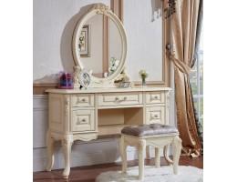Туалетный столик с зеркалом 8802-А Fiore Bianco, ivory