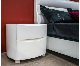 Тумбочка прикроватная SB42NE-S Nicoletta, white