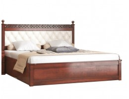 Кровать с мягким изголовьем РИЧАРД
