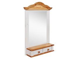 Полка-зеркало модель Синди (массив)