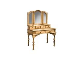 Стол туалетный Викинг GL с зеркалом (массив)