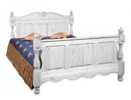 Кровать Викинг GL (160*190) (массив) браш.