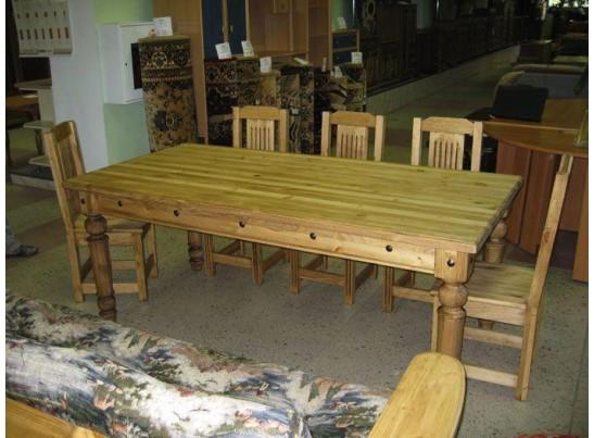 Стол обеденный Викинг GL-05 (массив)