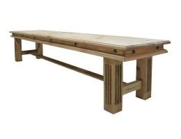 Скамейка Викинг от 120 до 250 см (массив)