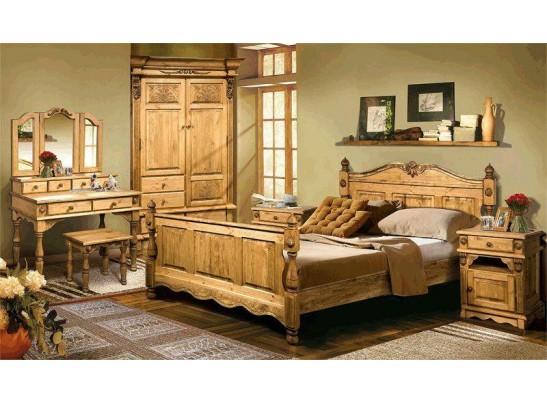 Кровать Викинг GL (160*190) (массив)
