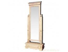 Зеркало напольное Викинг GL  браш. (массив)