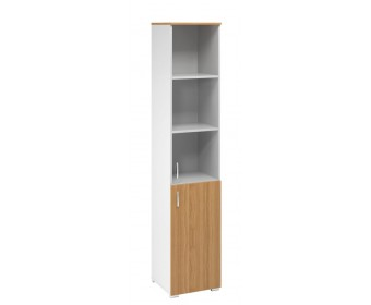 Шкаф колонка со стеклом (массив)