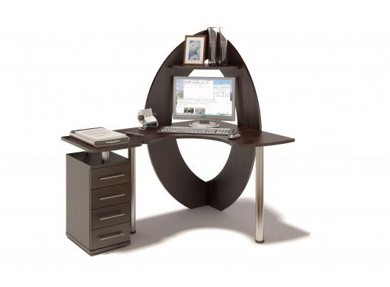 Угловой компьютерный стол iWork 07