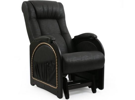 Кресло-качалка (глайдер) Комфорт Модель 48 с лозой