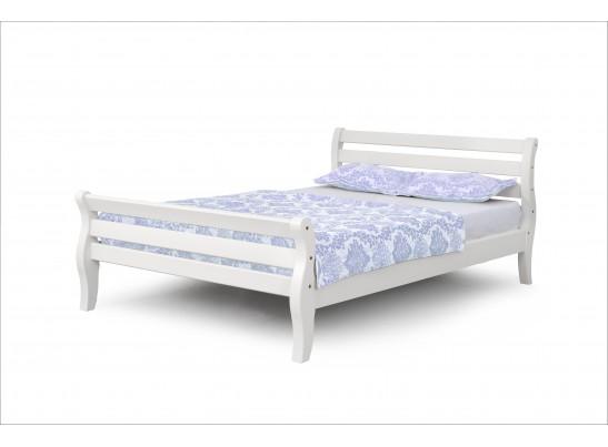 Кровать 1200 Белый полупрозрачный Аврора