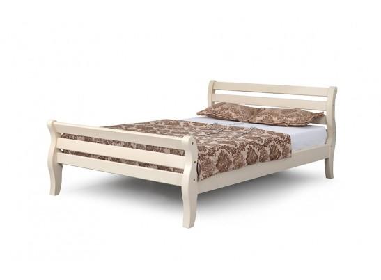 Кровать 1200 Ясень жемчужный с патиной Людмила-17