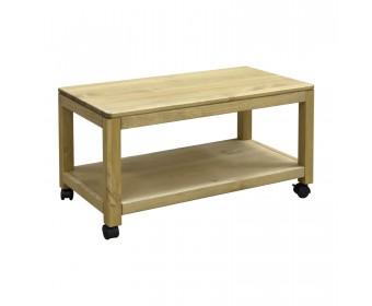Стол кофейный КМ-0069 75x40 из массива сосны