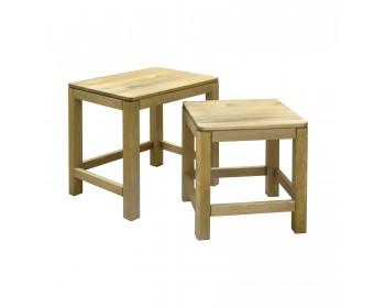 Набор столов КМ-0069 из массива сосны